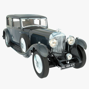 bentley 8 litre 1931 3d max