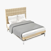designed boss bed headboard 3d model