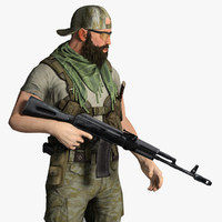 Soldier Mercenary Set 2