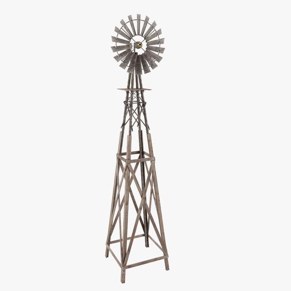 3ds max wind pump