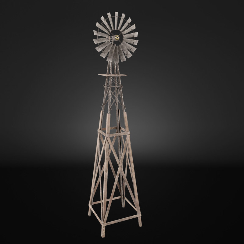 3ds max wind pump