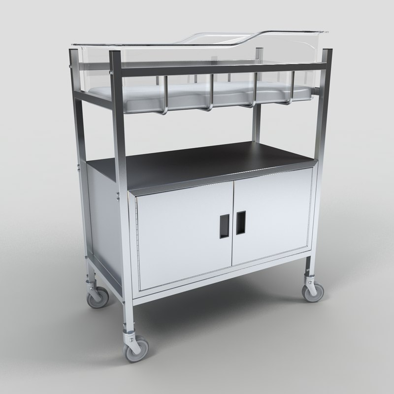 3d mobile bassinet model