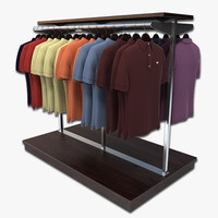 Polo Shirt Rack