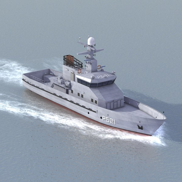 patrol boat danish 3d 3ds