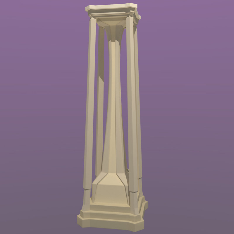 3d freestyle pillar