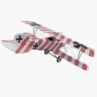 Albatros DIII WW1 Airplane