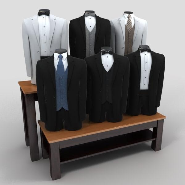 3dsmax tux tuxedos