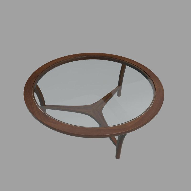 3d 3ds vintage table