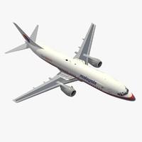 b 737-400 malaysia 3ds