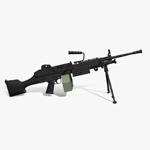 max m249 squad automatic weapon