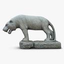tiger statue 3D models