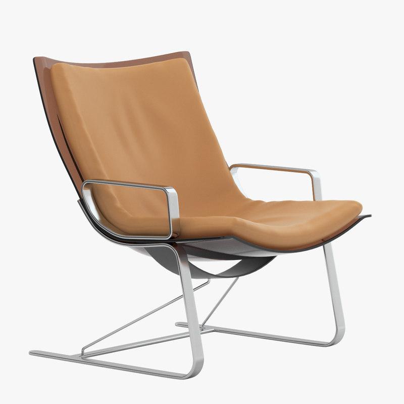 3d model apelbaum chair