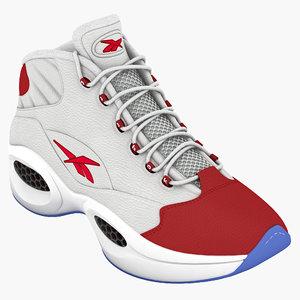 3d shoes reebok question