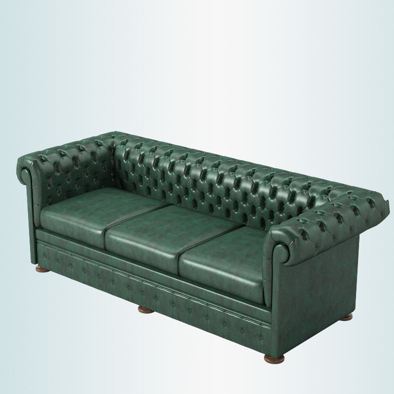 classical sofa 3d model