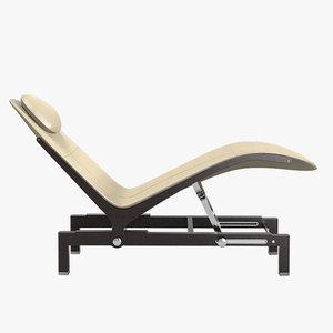 3d giorgetti chaise longue