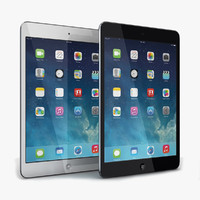 3d apple ipad mini 2 model