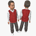 boy child 3D models