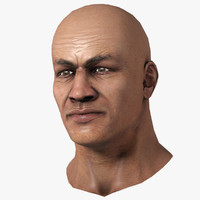 Human Head  (Male) Set 4