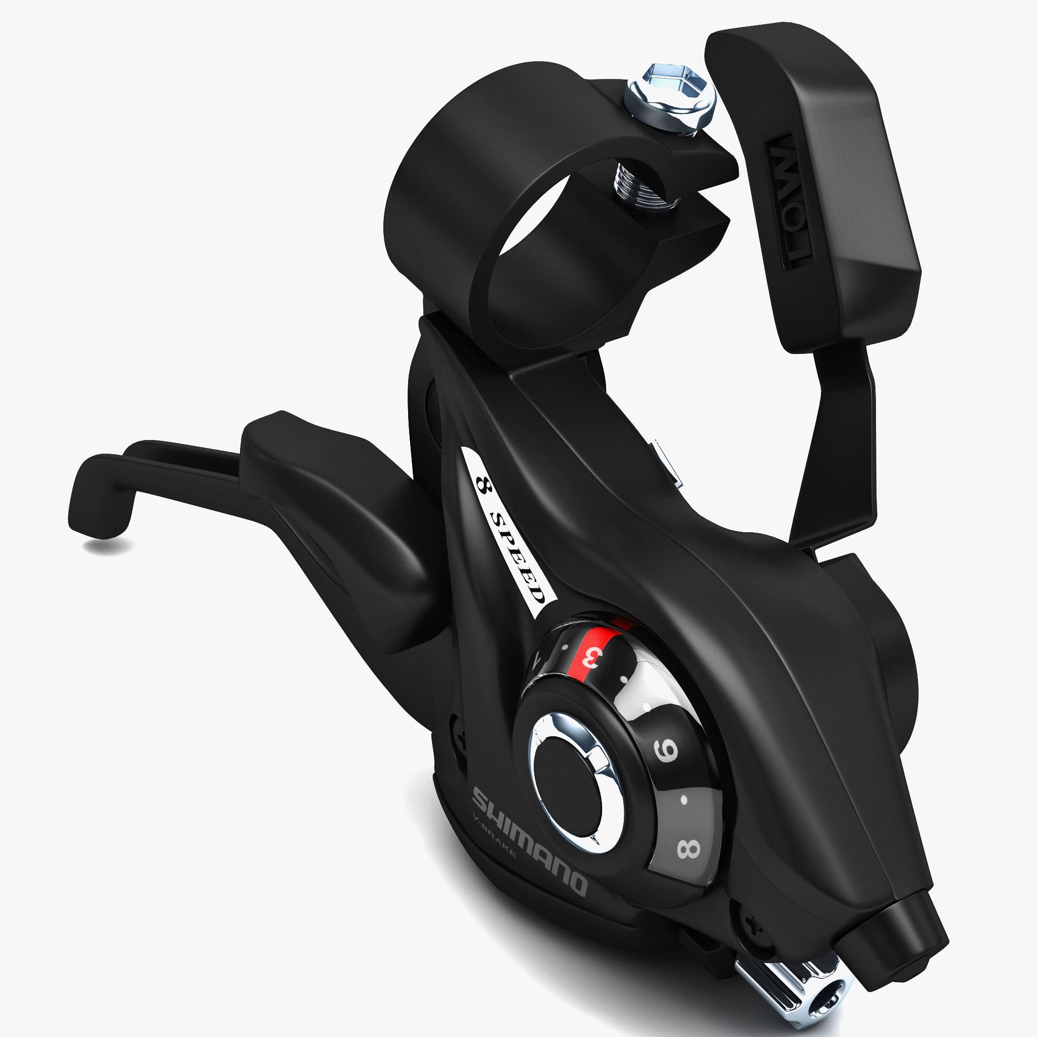 3dsmax bicycle brake shimano st-ef51