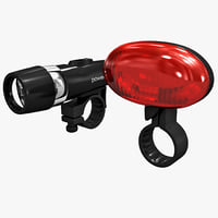 bicycle flashlights set 3ds