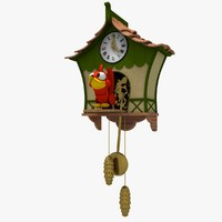 max cartoon coucoo clock