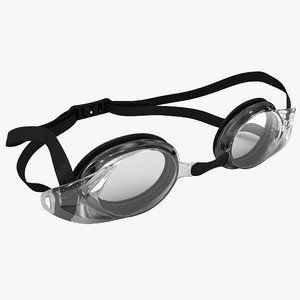 3d c4d swimming optical goggles speedo
