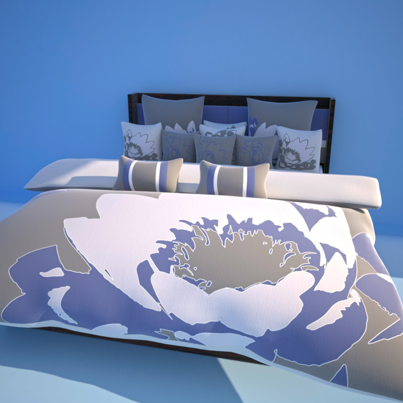 venice bed 3d model