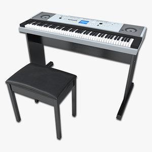 3d keyboard key model