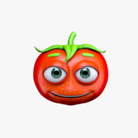 max cartoon character tomato