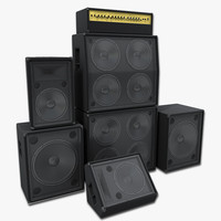 3ds speakers concert set