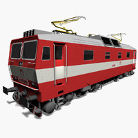 3d electric locomotive zssk model