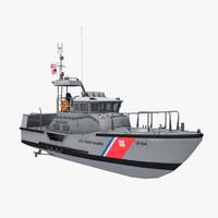3d coast guard 47-foot motor model