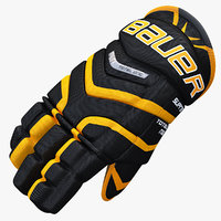 3ds max ice hockey glove