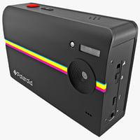 Digital Print Camera Polaroid Z230 Black