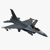 max f-16 fighting falcon belgian