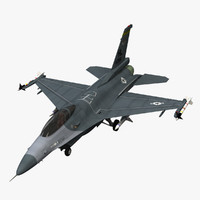 3d f 16 fighting falcon