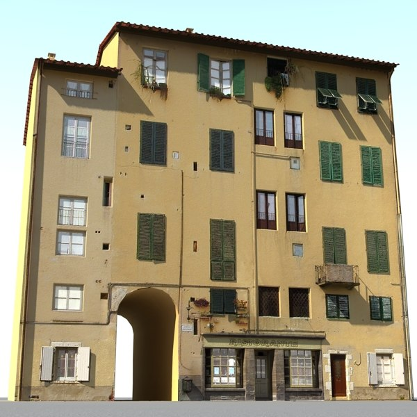 3ds max tuscan house