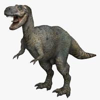 3d model tyrannosaurus dinosaur