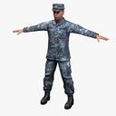 Sailor 3D models