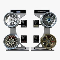 3d wheels volk racing model