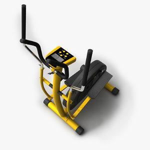 crosstrainer exercise 3d 3ds