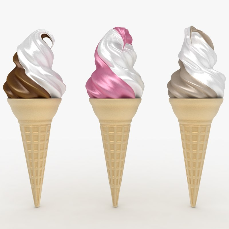 3ds max ice cream cone