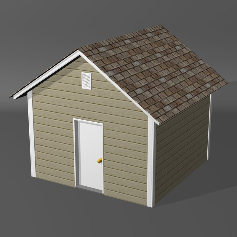 3dsmax shed new