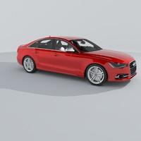 3d model audi s6 2013