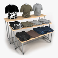 t-shirt table