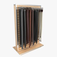 Men's Belt Rack