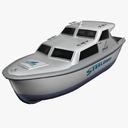 dive boat 3D models