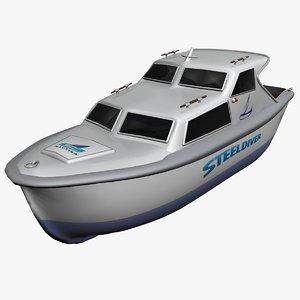 3d sport boat