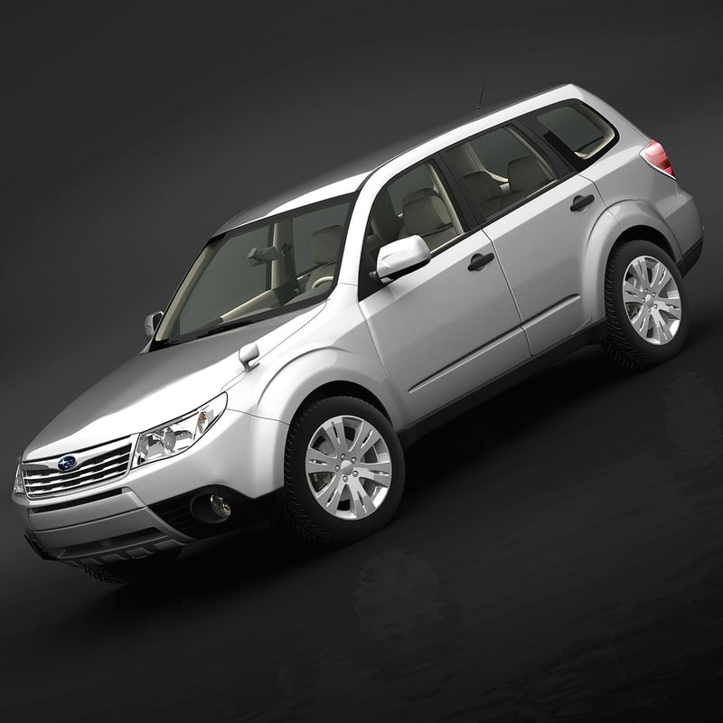 3ds max 2009 subaru forester