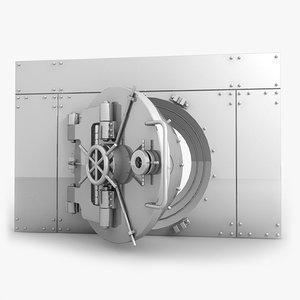 3d model vault